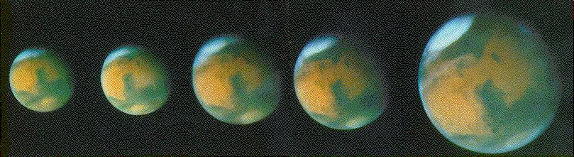 [HST views of Mars]
