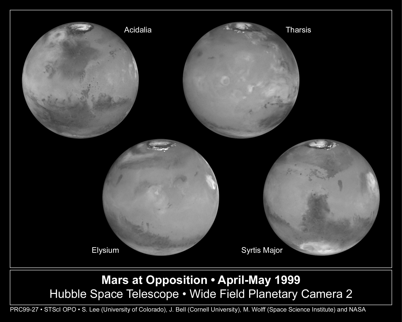 Mars Hubble Telescope Hubble Space Telescope Images