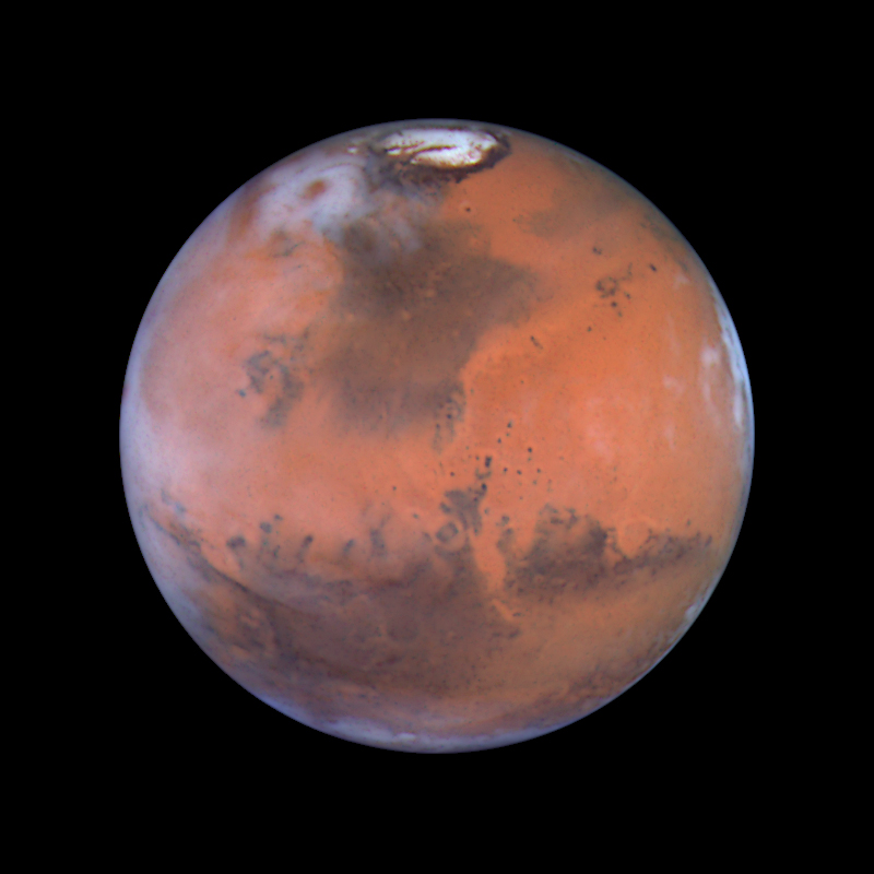 hubble telescope weird thing in mars - photo #8