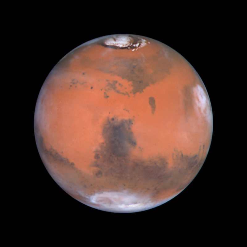 hubble telescope weird thing in mars - photo #3
