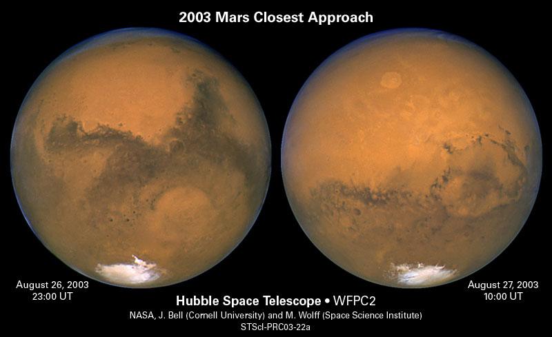 Mars on August